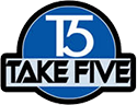 Take Five Lounge logo